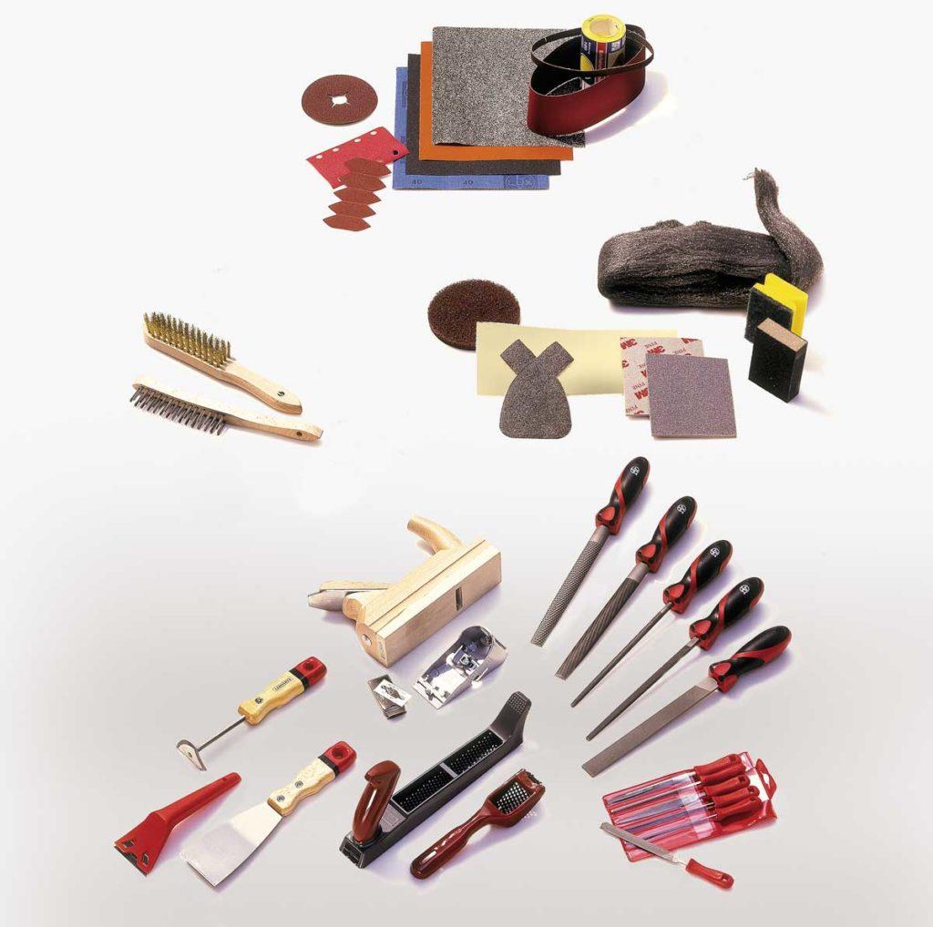 abrasivi manuali