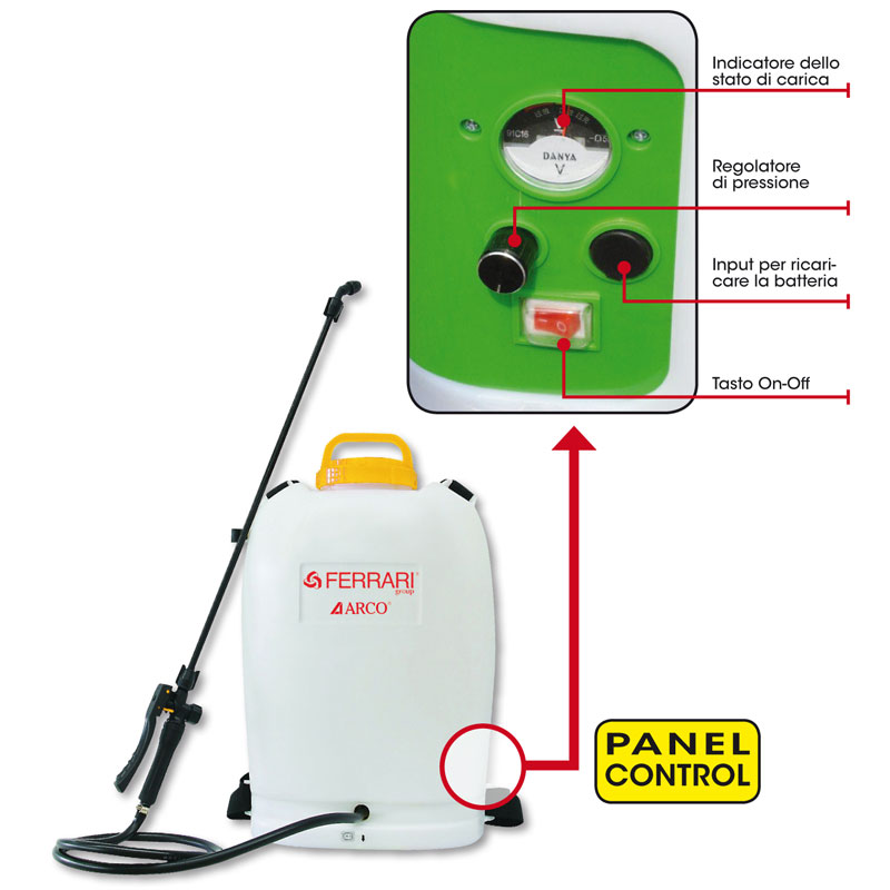 Pompa a batteria Easy Sprayer