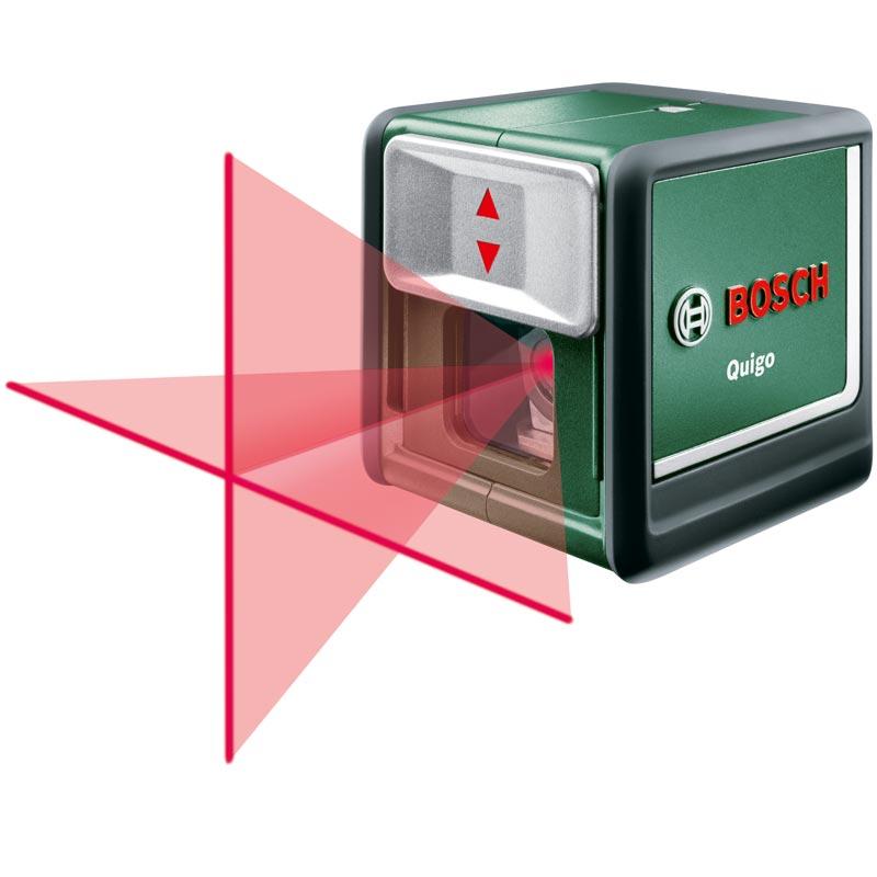 Livella laser Quigo Bosch