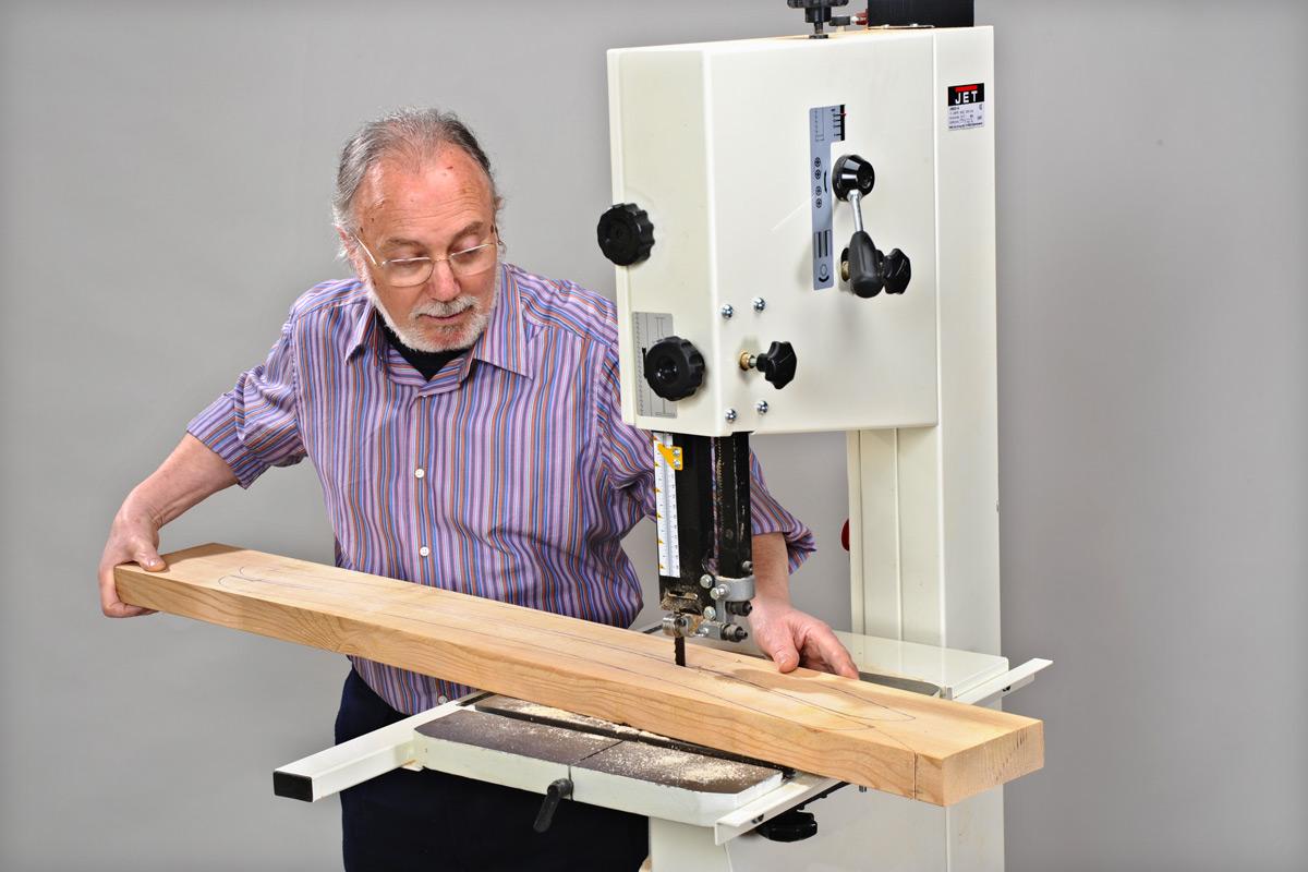 Lama x sega a nastro taglio legno Einhell sviluppo 1400 mm larghezza 6,5 mm