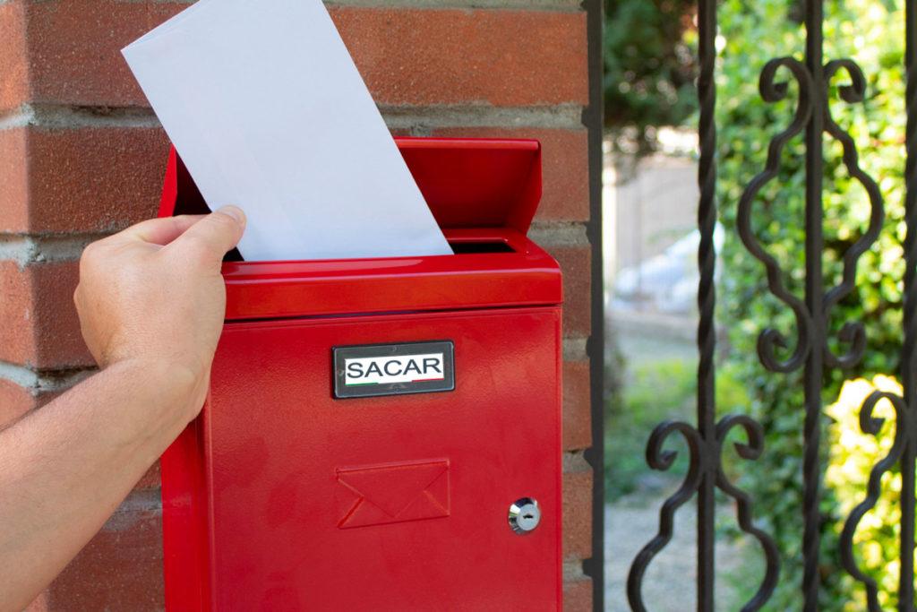 cassetta postale sacar