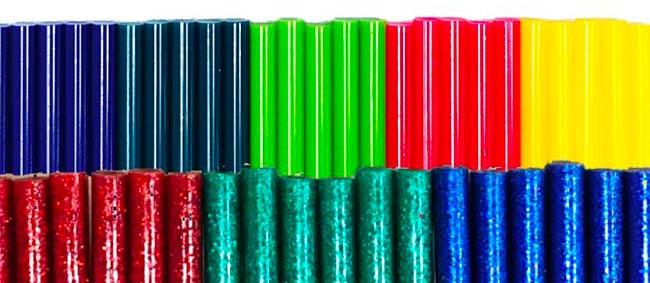 Colori solidi e glitterati