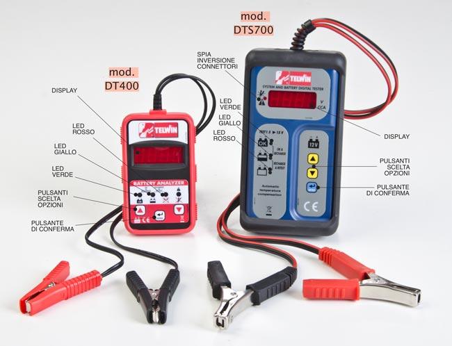 tester DT400 e DTS700