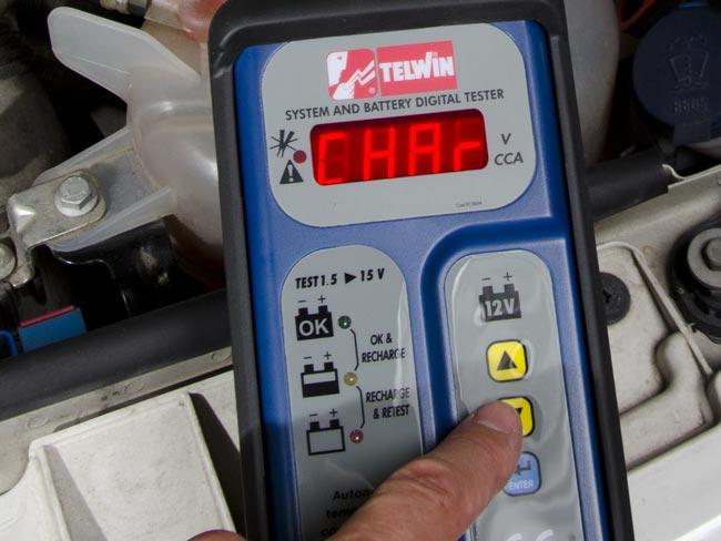 tester per batteria auto