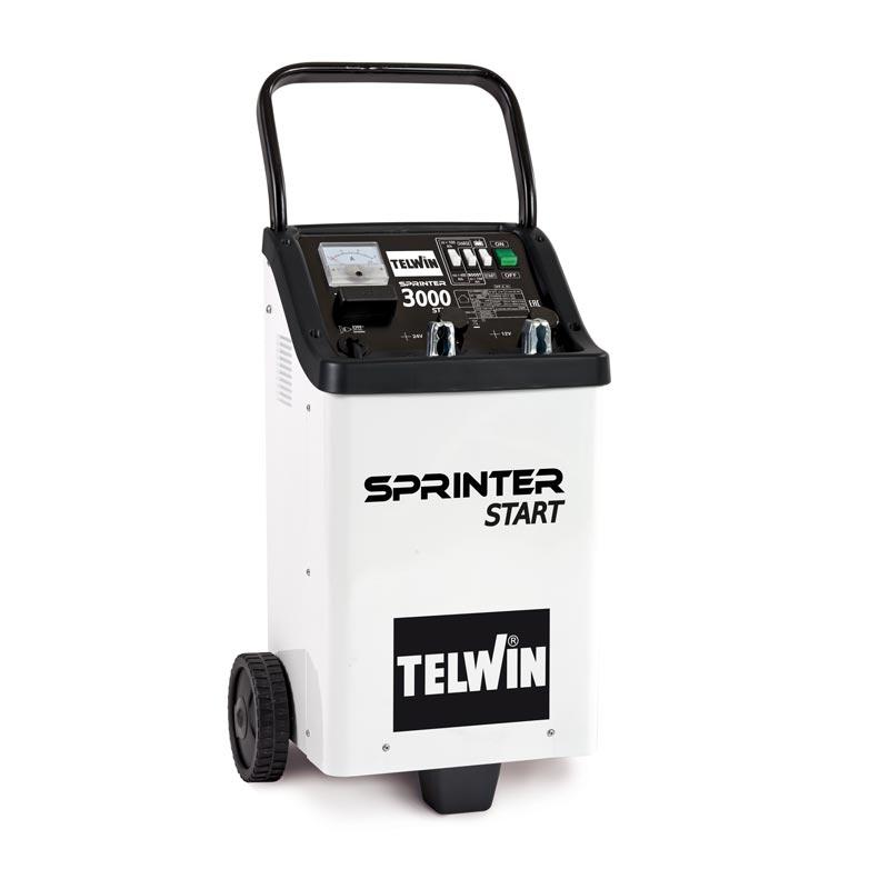Caricabatterie e avviatore Telwin