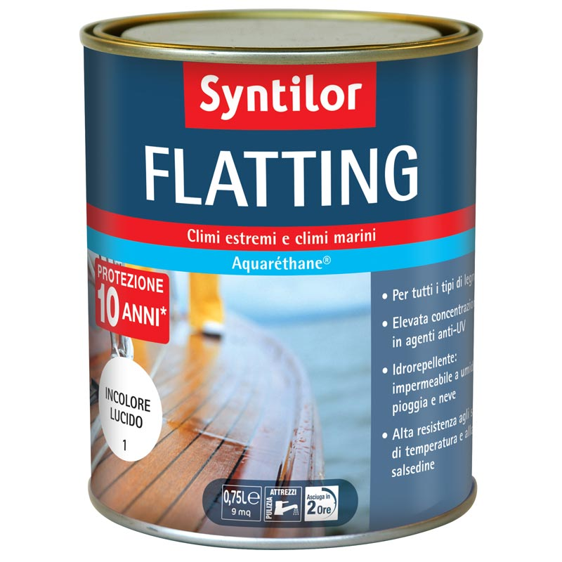 Flatting all'acqua Syntilor