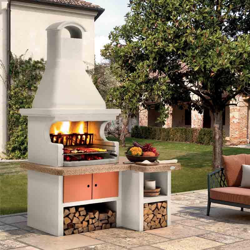 Barbecue in cemento Gallipoli 3 Palazzetti