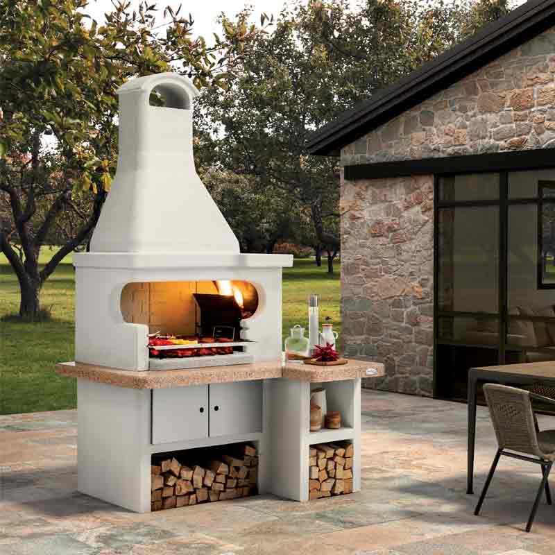 Barbecue in cemento Tropea 3 Palazzetti