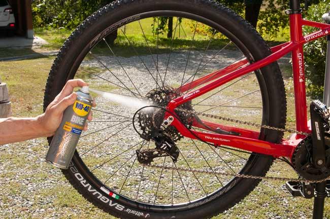 manutenzione catena bicicletta