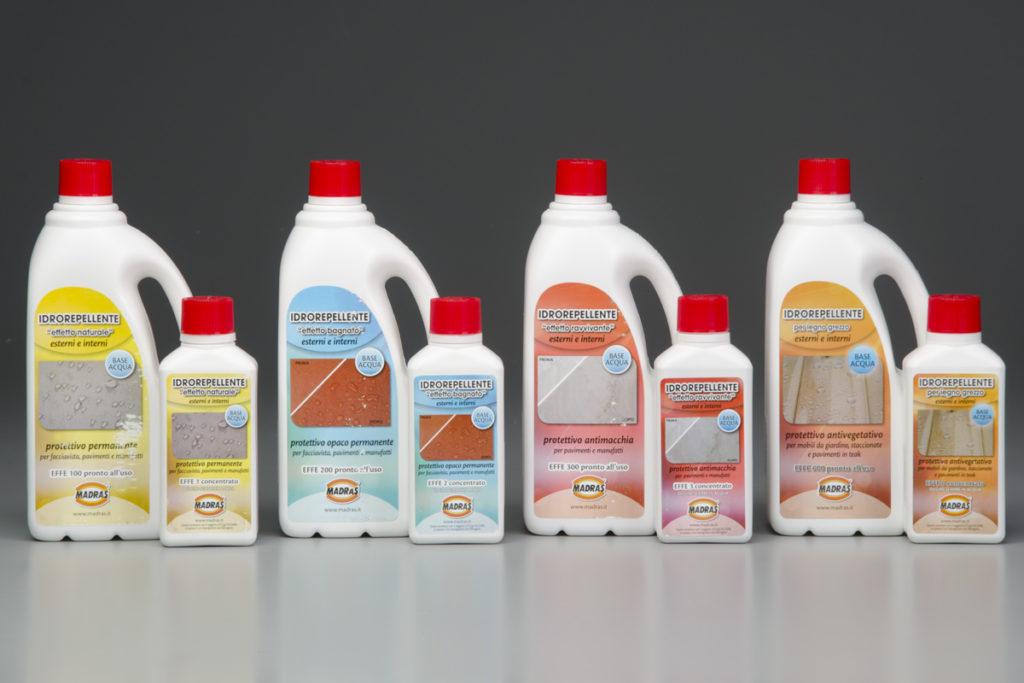 prodotti idrorepellenti