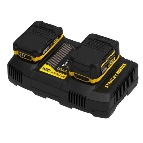 Caricabatterie doppio Stanley FatMax