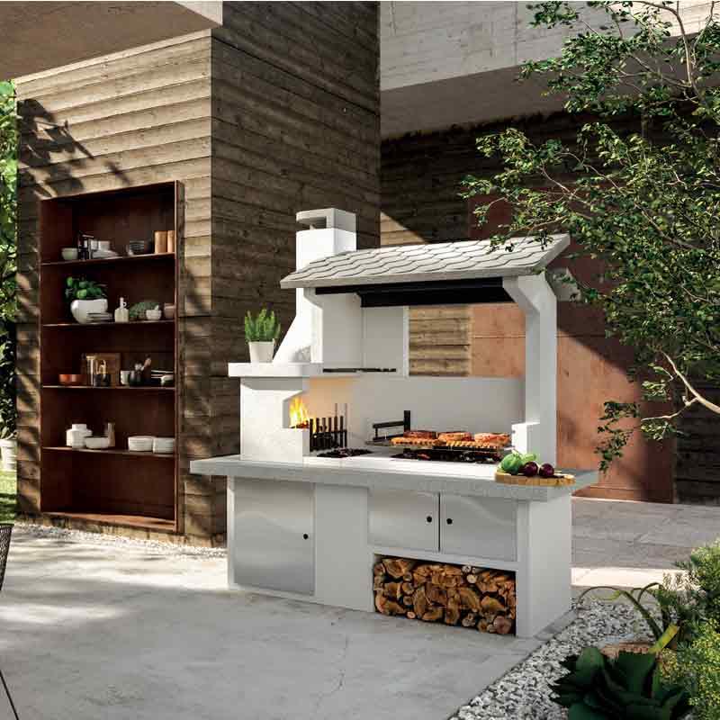 Barbecue in cemento Trinidad Palazzetti