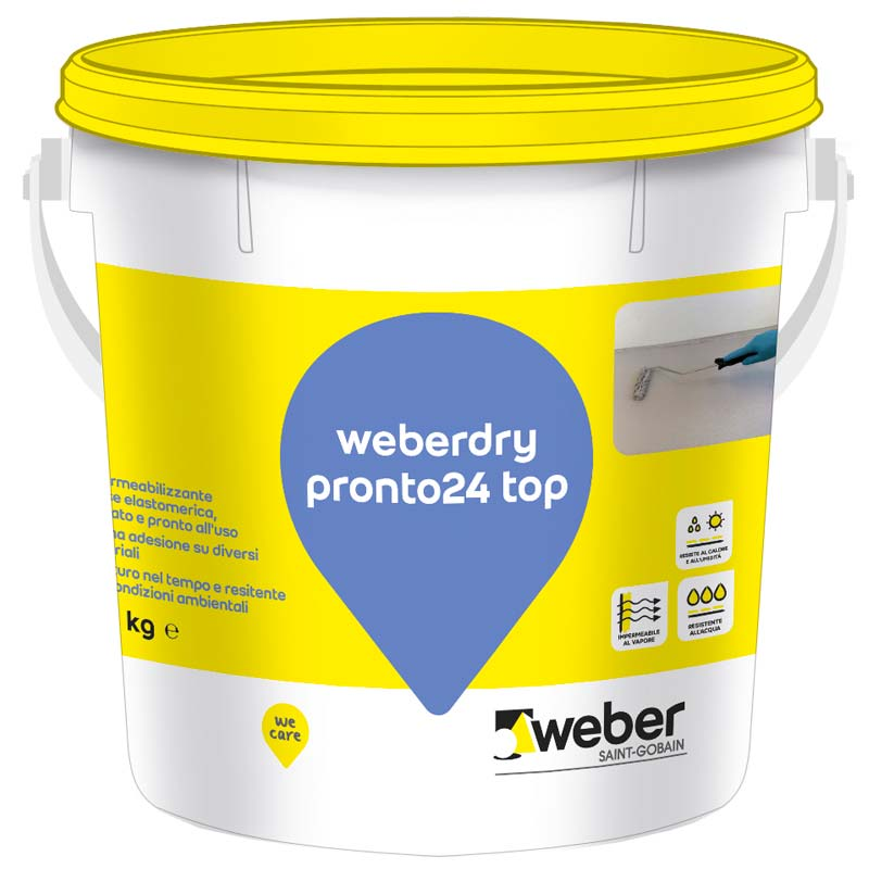 Weberdry Pronto24 top Saint-Gobain